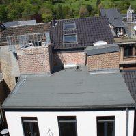 Feronstrée - Vue aérienne du toit