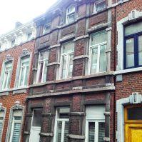 Ravalement d'une façade par sablage