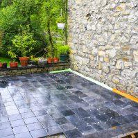 Rénovation crépis sur isolation et terrasse