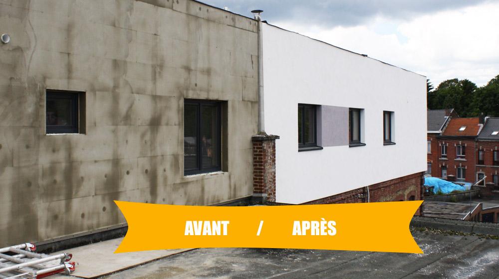 Cr pis sur isolation priaes construction immobilier for Crepi exterieur isolant thermique