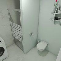 Feronstrée - Appartement 6 - Sdb