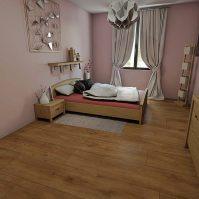 Feronstrée - Appartement 3 - Chambre