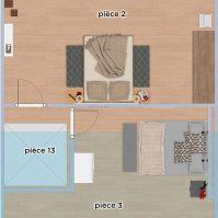 Feronstrée - Appartement 6 - Plan 2D