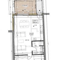 Feronstrée - Appartement 4 - Plan architecte