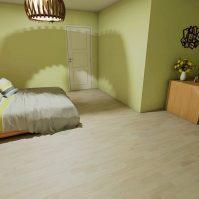 Feronstrée - Appartement 6 - Chambre